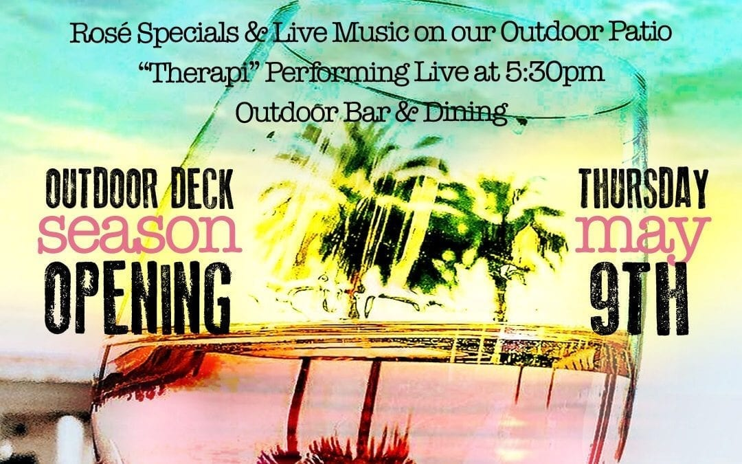 GRAND OPENING OF OUR PATIO WITH OUR LIVE REGGAE BAND